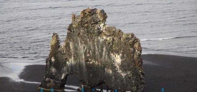 скала слон исландия