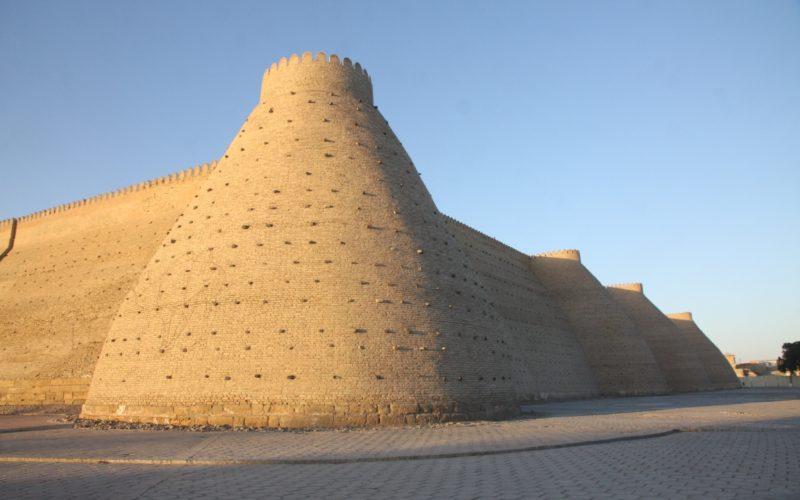 Главная крепость правителей Бухары