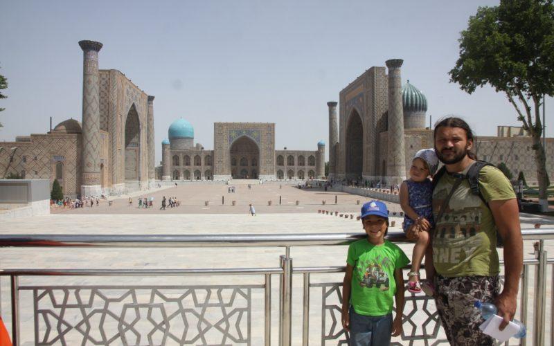 Путешествие в Узбекистан. Площадь Регистан