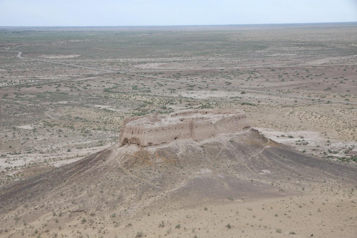 вторая часть крепости Аяз-Кала в Узбекистане