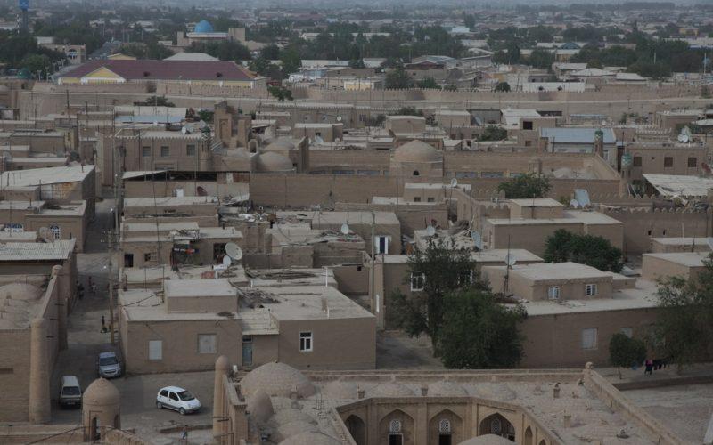 глиняные улочки узбекистана