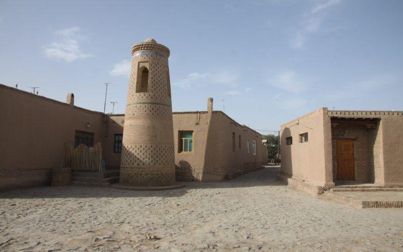 улочки крепости в хиве