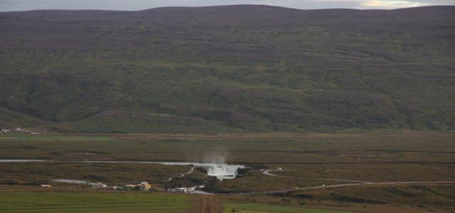 водопад годафосс исландия панорама