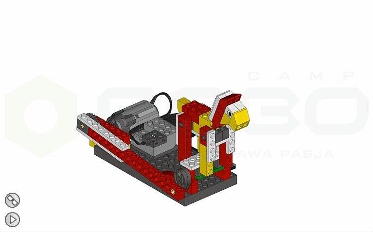 инструкции по сборке lego лошадь