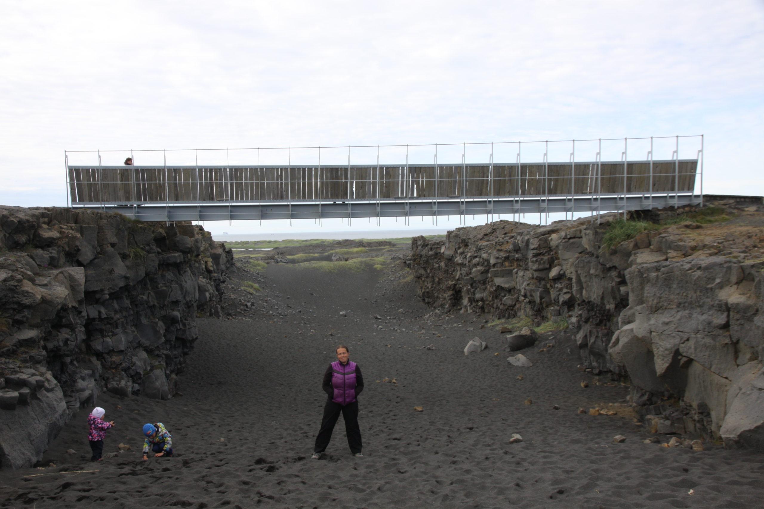 поездка в исландию рейкьявик разлом