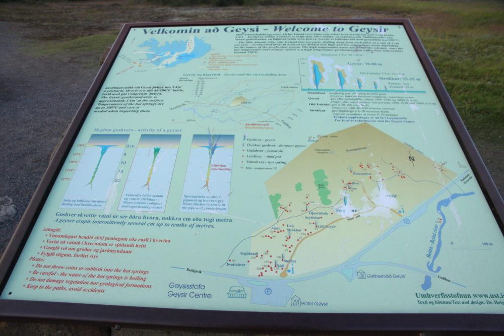 план схема долины гейзеров в исландии