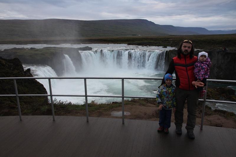 Смотровая водопада Годафосс Исландия 2020