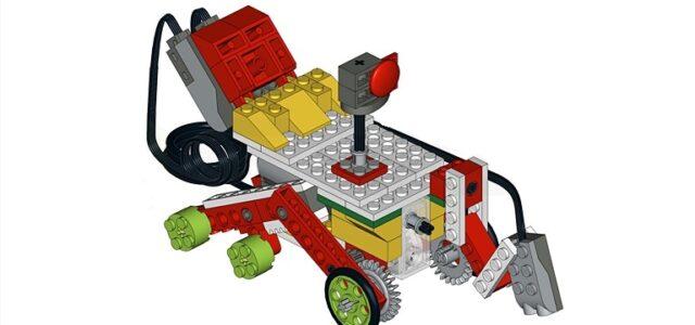 Лего Луноход программы Космос