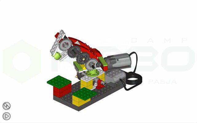 Манипулятор лего или космическая рука