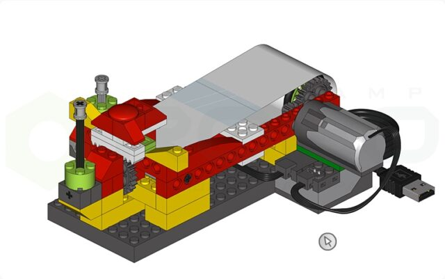 Программа Lego Wedo 9580 Полет сквозь пояс астероидов