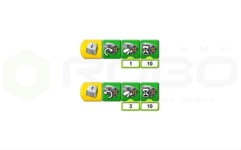 Программный код к манипулятору лего ведо