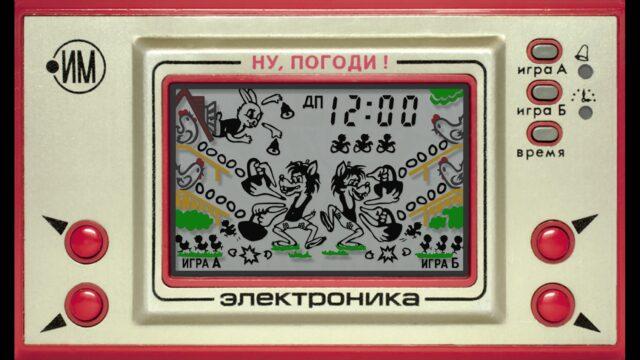 Электронная игра Ну погоди в Скрейтч