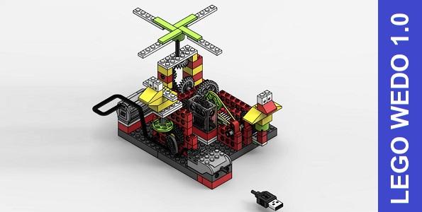 Мегаредуктор из Лего