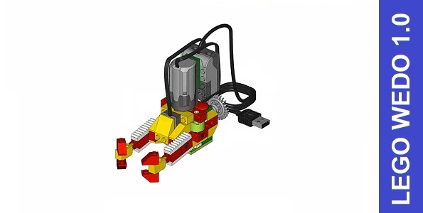Лего подводный батискаф из ВеДо