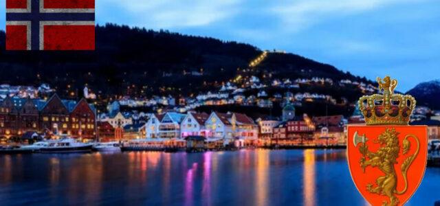 Интерактивная карта Норвегии