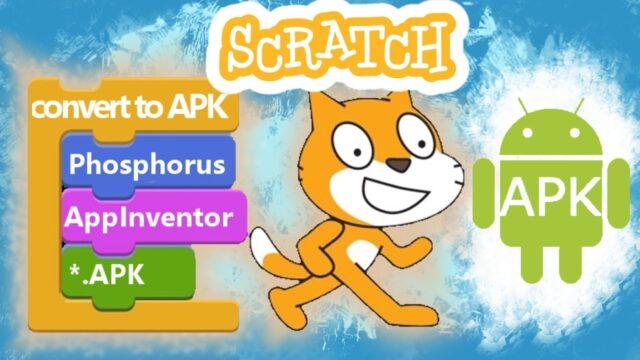 scratch to apk